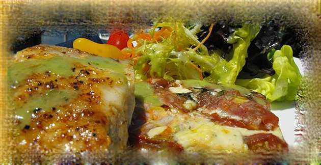 bass recipes - Striped Bass Tomato Tart
