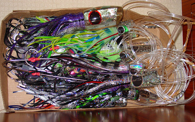 fishing jig - Trolling Lure Sticky Skirts