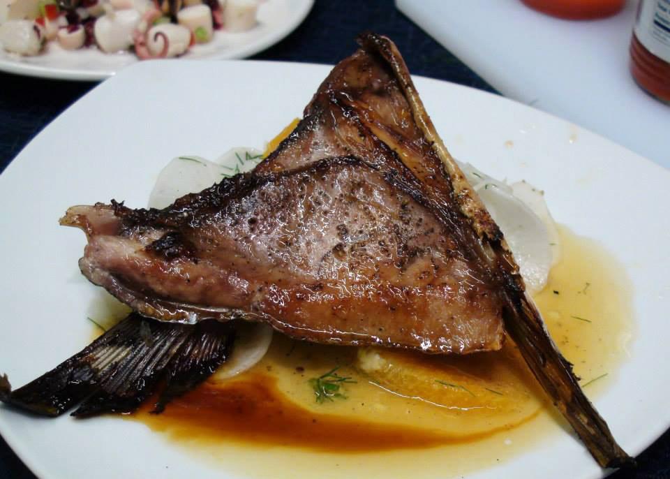 cooking fish collars