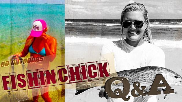 Tabby Abbassi Fishin Chick