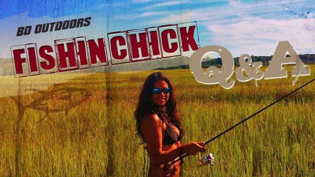 Leslie Martinez Fishin Chick