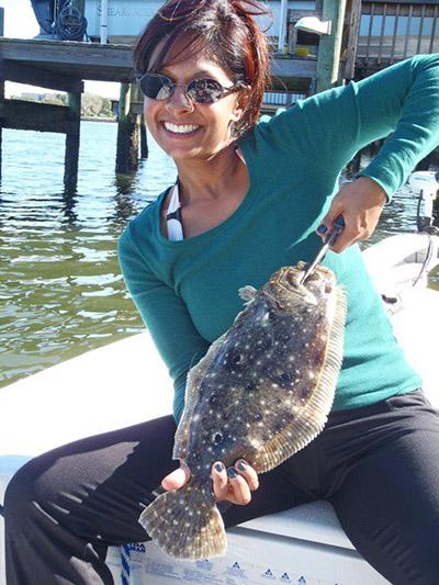 Rosemary White womens fishing