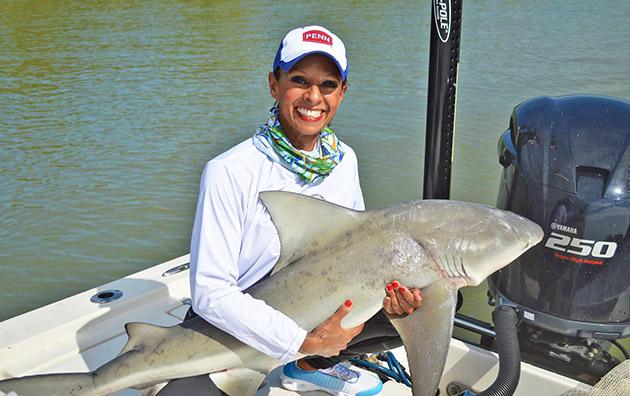 Shark Encounter Rosemary White