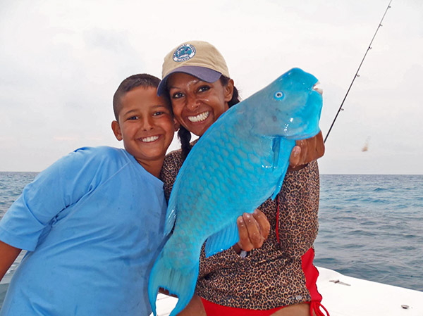 Rosemary White parrotfish