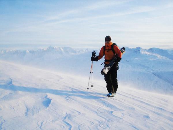 Mereidi Liebner outdoors Alaska