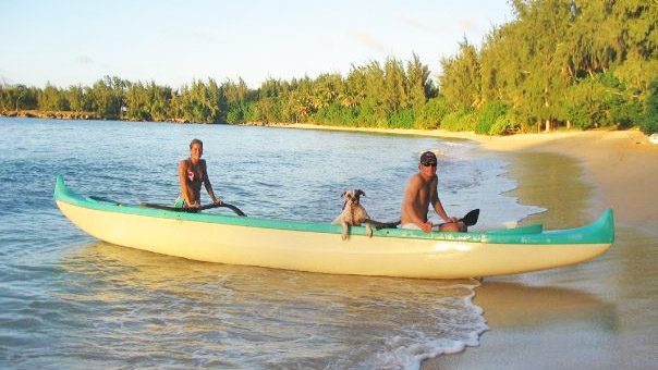 Katie Pere outrigger canoe
