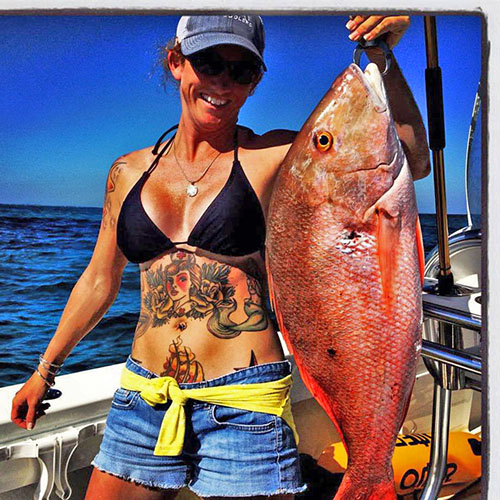 Rachel Bowman snapper