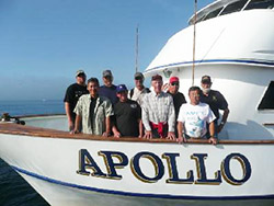 Fly Rod Bluefin tuna sportboat