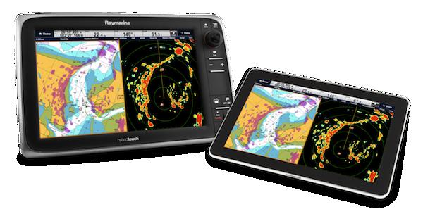 raymarine navigation streaming android