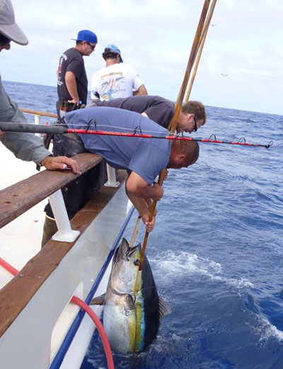 long range fishing crew