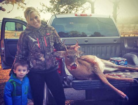 Carolyn Jordan hunting