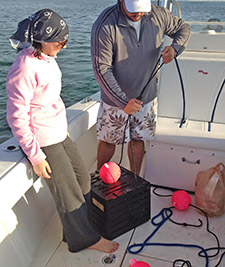Maureen Mascaro crab fishing