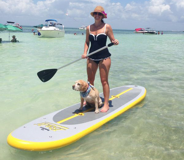 Maureen Mascaro standup paddleboard SUP