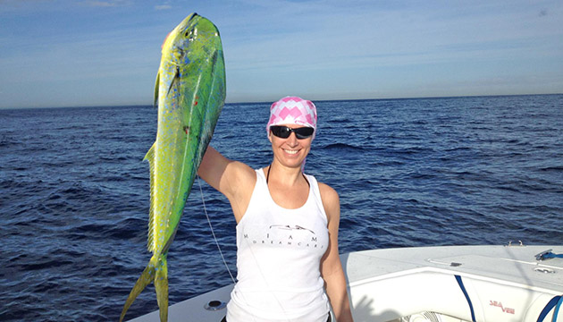 Maureen Mascaro mahi dolphinfish fishing