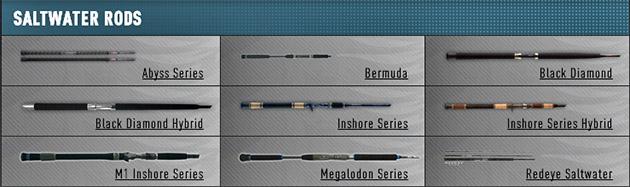 Phenix Black Diamond Rods