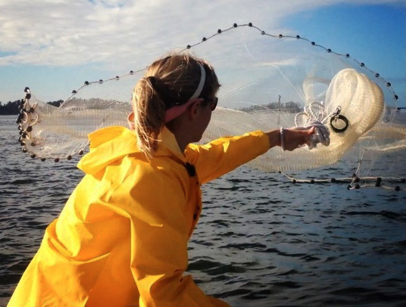 Chasten Whitfield ladies fishing