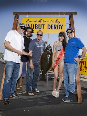 Marina Del Rey Halibut Derby Results