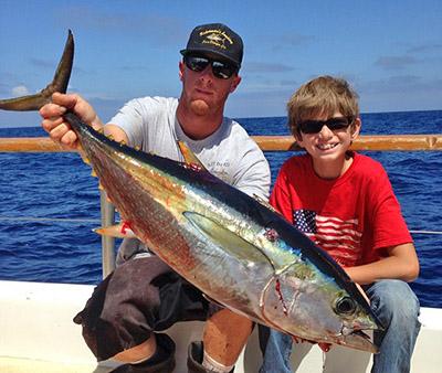 Yellowtail And Tuna Bites Continue
