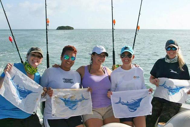 Maureen Mascaro ladies fishing