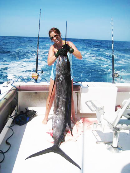 Abbey Wagley sailfish