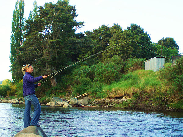 Mereidi Liebner ladies flyfishing