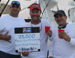 Captain Releases Record Billfish