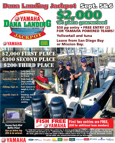 Dana Landing Fishing Tournament