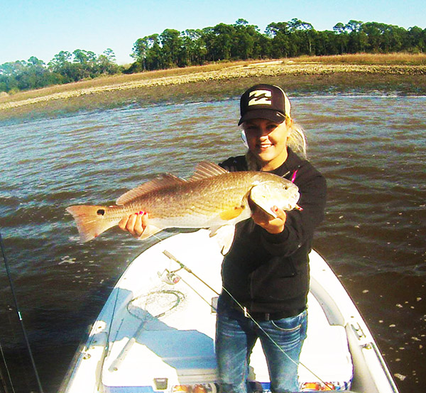 Tabby Abbassi ladies redfish