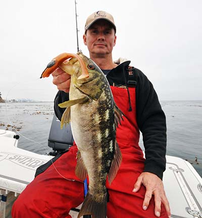 calico bass private boat California fishing