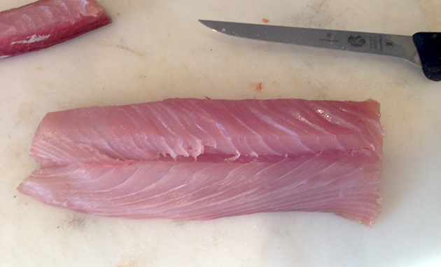 Cleaning Yellowtail
