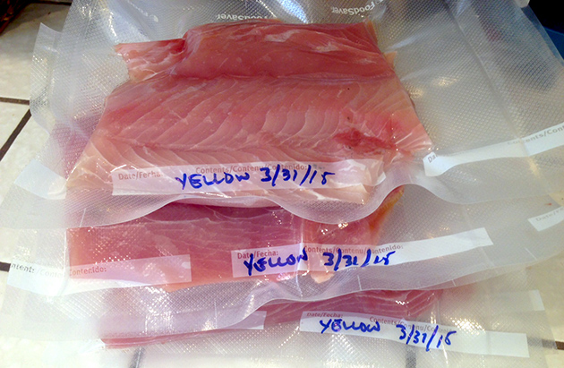 Yellowtail Meat