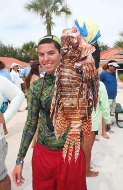 Bimini Sands Lionfish