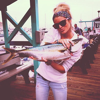 Kristen Petersen yellowtail