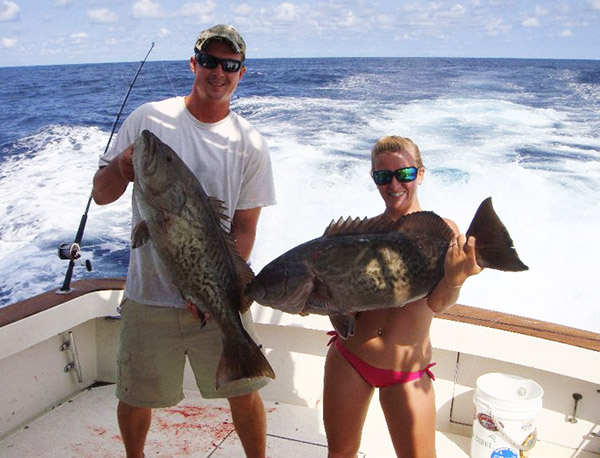 Courtney Sheridan fishing chick grouper