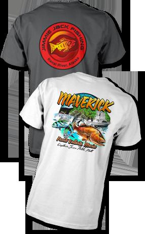 Fishing Tee Shirts Red Tuna Tee Shirt Club