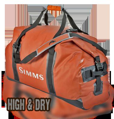 waterproof duffel - Simms Dry Creek Duffel Bag
