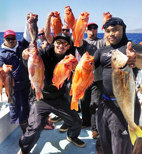rockfish trips