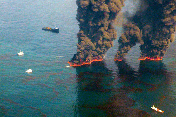oil fires
