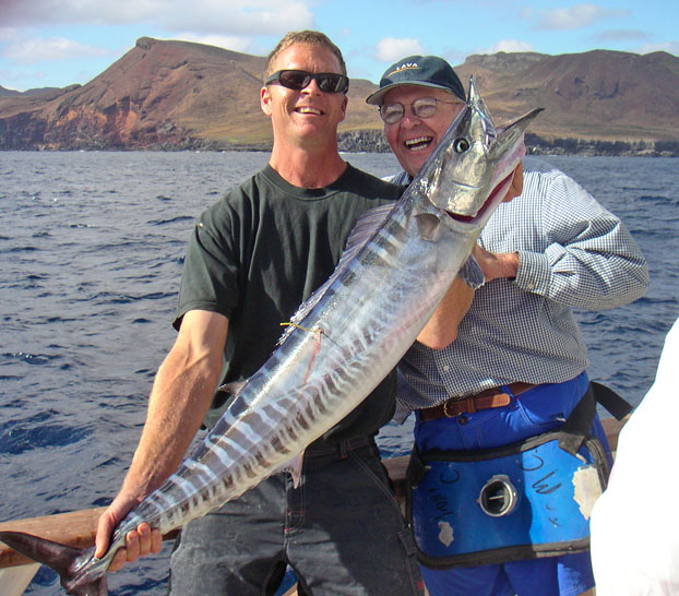 wahoo fishing long range