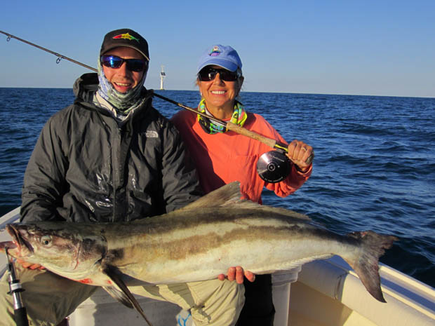 December 2011 Female 16 Pound Tippet Cobia Record