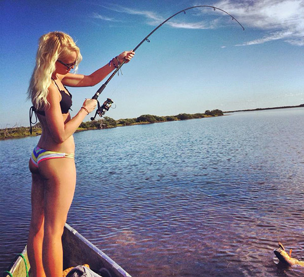Fishing Chick Christine Pulliam