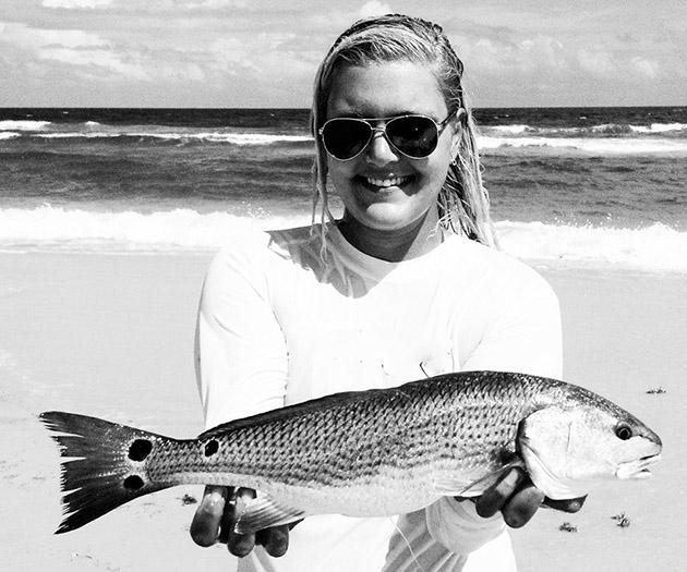 Tabby Abbassi redfish