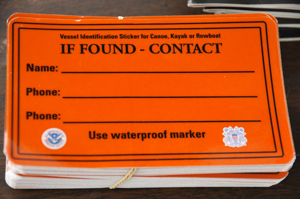 ID sticker