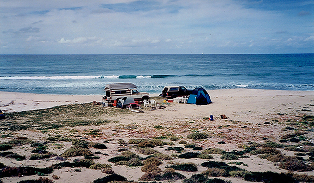 Baja Beach Campsite