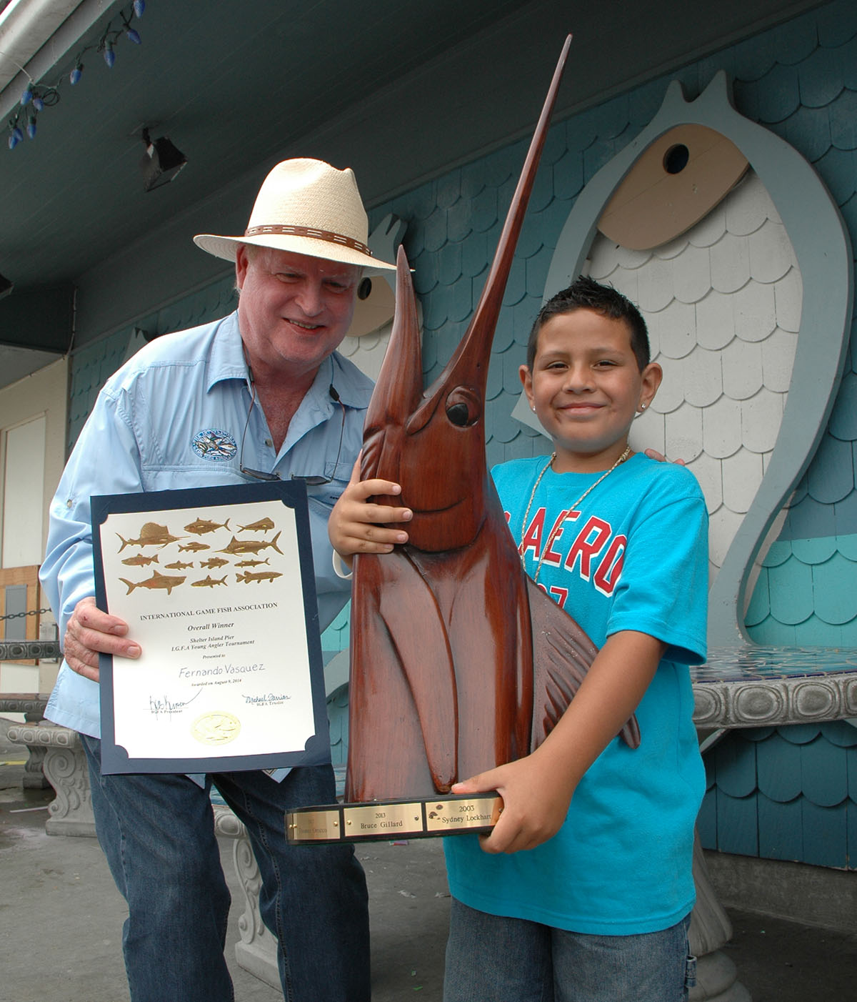 kids fishing - Young Anglers Tourney
