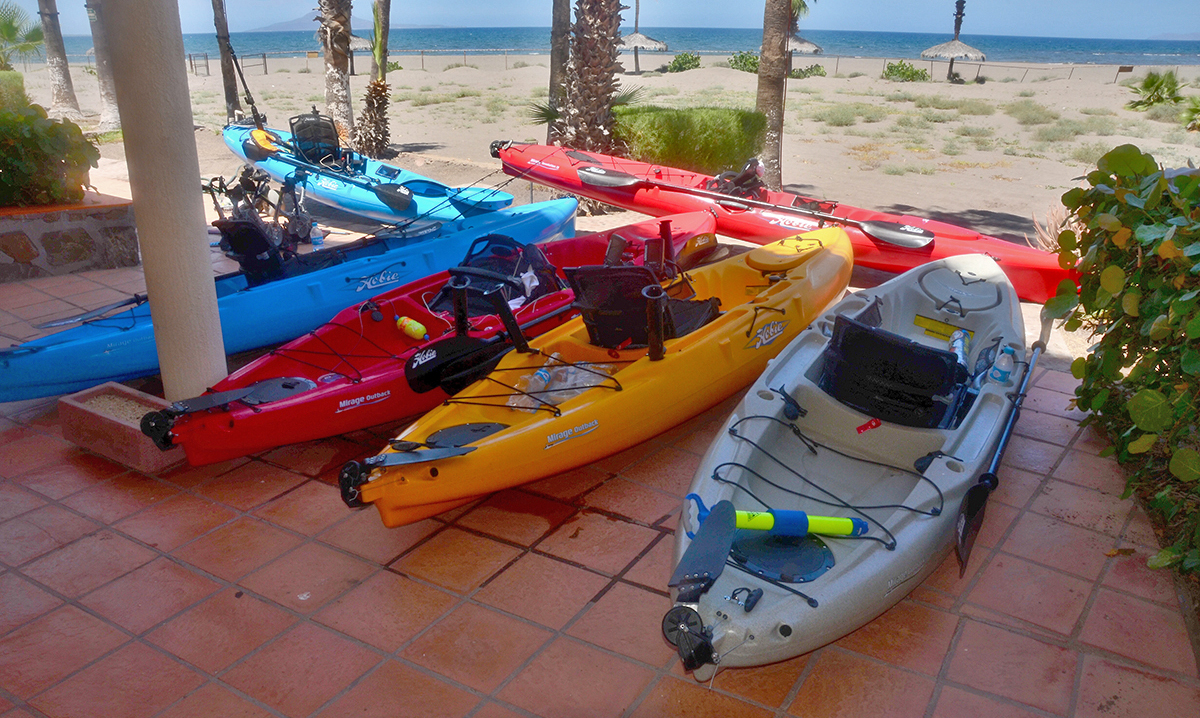 1e92f87a1a Loreto Hosts Hobie Fishing Team