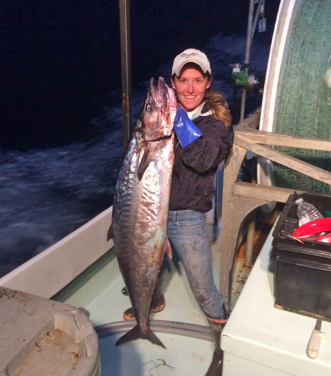 April Piland sportfishing chicks