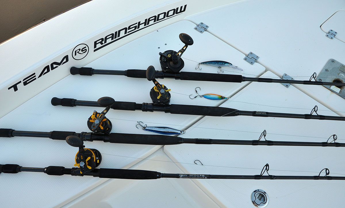 Offshore gear fishing tips from the pros for Expensive fishing rods