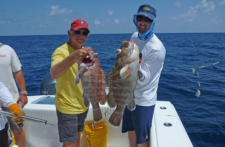 Deep sea bottom fishing flordia