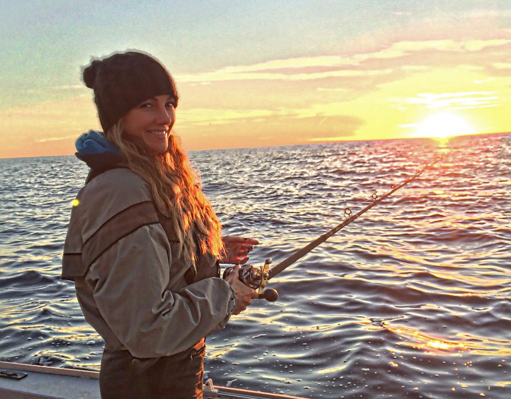 Amber Miller ladies fishing - Fishing Chick Amber Miller